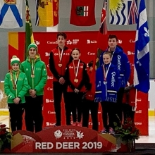 Congratulations to our Pre Novice Pair Team, Ashlyn Schmitz & Tristan Taylor, on winning Bronze at the 2019 Canada Winter Games in Red Deer! Skate Canada Sask is so proud!  #goteamsask #cwg2019 #hardworkpaysoff