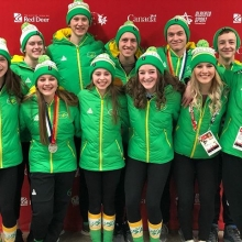 Well that's a wrap for Team Sask Figureskating at the Canada Winter Games 2019! They not only skated their hearts out but were excellent ambassadors for our sport and province. We are so proud of all these athletes! #cwg2019 #skskate