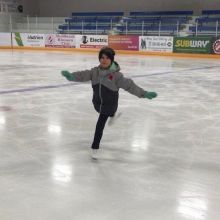 Meet our February #RisingStar Julie Schindle from Shellbrook Skating Club 🌟🌟🌟! Julia is a dedicated skater who takes the advice and suggestions she is given during her lesson time and works hard to incorporate them into improving her skating skil
