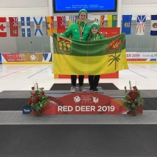 Congratulations to our Novice Pair Team, Caidence Derenisky and Raine Eberl on winning Silver at the 2019 Canada Winter Games in Red Deer! Skate Canada Sask is so proud!  #goteamsask #cwg2019 #hardworkpaysoff