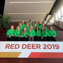 THANK YOU 👏🏻👏🏻 #2019canadagames #cityofreddeer #volunteers #officials #parents #athletes #coaches!This will forever remain the memory of a lifetime for us because of all your efforts! Special #thankyou to @erinsobkow, Mission Staff @goteamsask