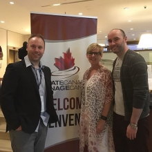 Our very own, presenting at Skate Canada Ice Summit in Ottawa! Congratulations! @davidschultz @karenhoward @hinesnow #icesummit2019 #agm2019
