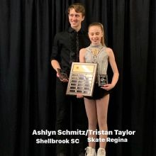 Novice Pairs 2020 Skate Canada Saskatchewan Sectional Champions presented by Lyle Schill Construction