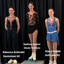 Novice Women 2020 Skate Canada Saskatchewan Sectional Champions presented by Lyle Schill Construction