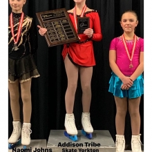 Pre Juvenile  Women U11 2020 Skate Canada Saskatchewan Sectional Champions presented by Lyle Schill Construction