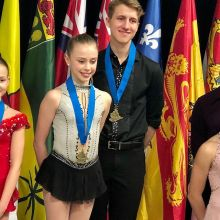 Congratulations Ashlyn Schmitz and Tristan Taylor on🥇in Novice Pairs at Skate Canada Challenge 2020! #skskate @skateregina #shellbrooksc