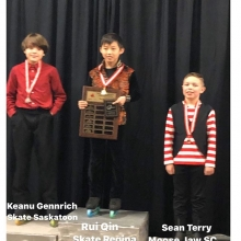 Pre Juvenile  Men U11 2020 Skate Canada Saskatchewan Sectional Champions presented by Lyle Schill Construction