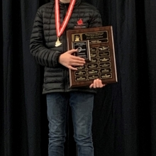 Pre-Novice  Men 2020 Skate Canada Saskatchewan Sectional Champions presented by Lyle Schell Construction