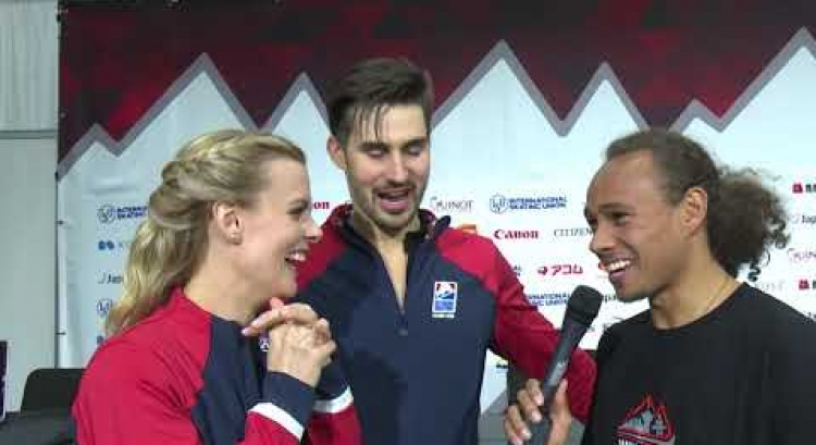 #GPFVancouver: Hubbell/Donohue (Ice Dance Gold)